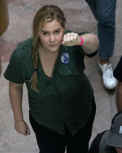 Amy Schumer | Arrested for Protest of Brett Kavanaugh