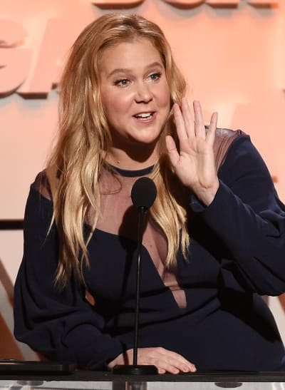 Amy Schumer Protest arrest