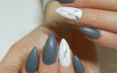 28 Marble Nail Design Ideas to Match All Your Marble Stuff
