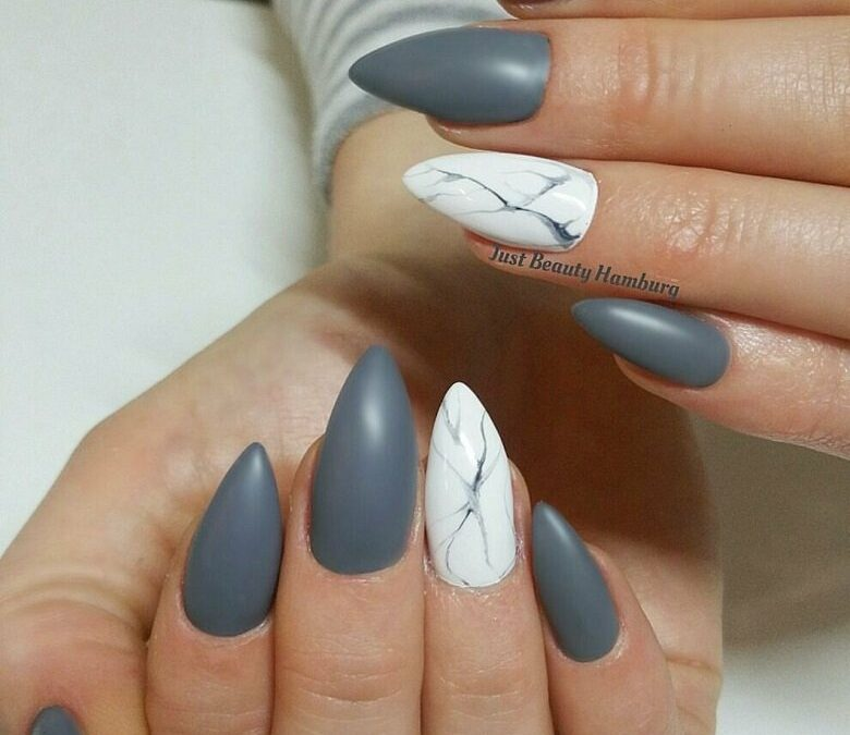 28 Marble Nail Design Ideas