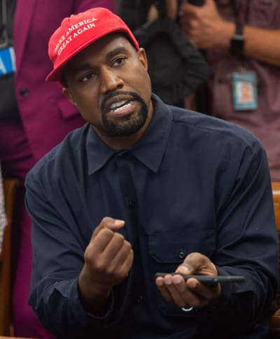 Is Kim Kardashian Leaving Kanye Over MAGA Madness?