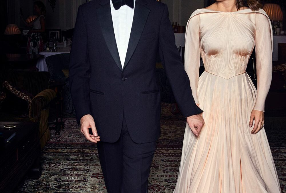 Princess Eugenie's Wedding Reception Dress Was a Real Knockout