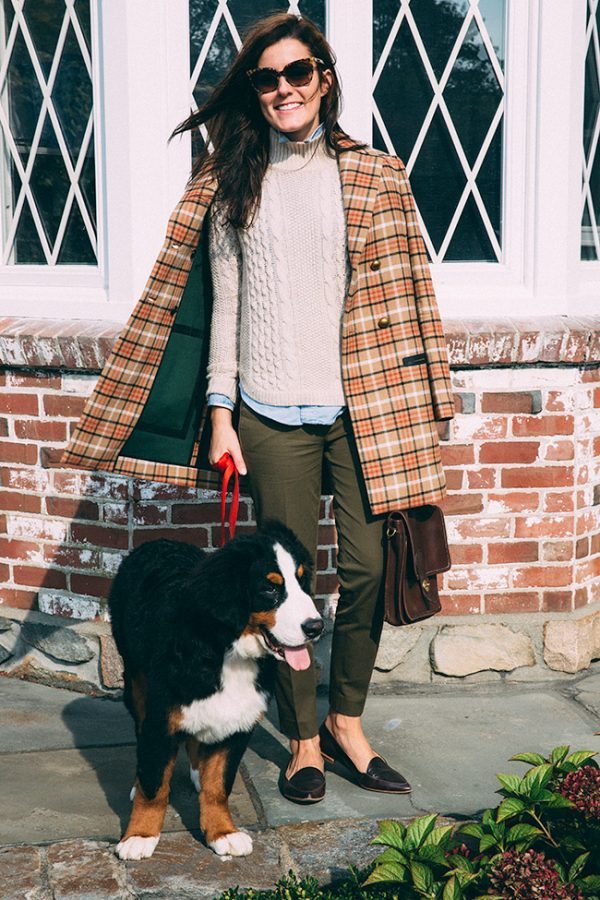 vintage look preppy outfit bmodish