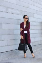 Fashionable oversized sweater for winter outfit 1