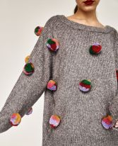 Fashionable oversized sweater for winter outfit 55