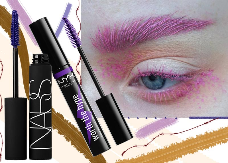 How to Pull-Off Colored Mascara