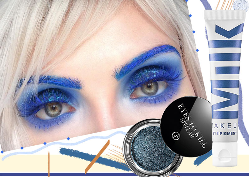 17 Ways to Wear Blue Eye Shadow