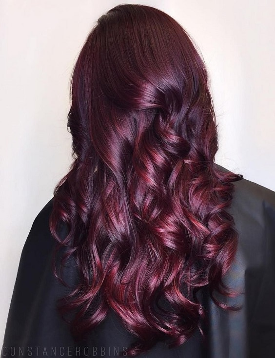 34 Sultry Shades of Burgundy Hair— to Copy