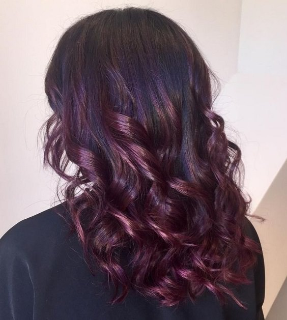 34 Sultry Shades Of Burgundy Hair To Copy Viva La Vibes
