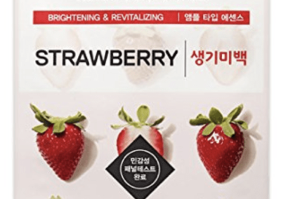 strawberry ceramide mask
