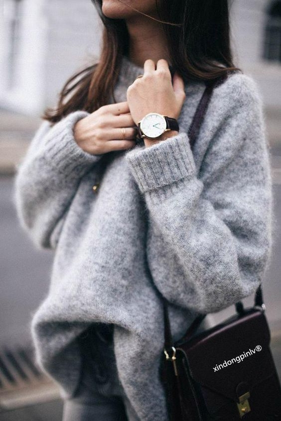 64 Stylish Ways to Wear Oversized Sweaters