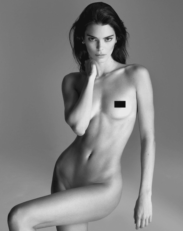 Kendall Jenner Gets Naked …to Talk about Acne?