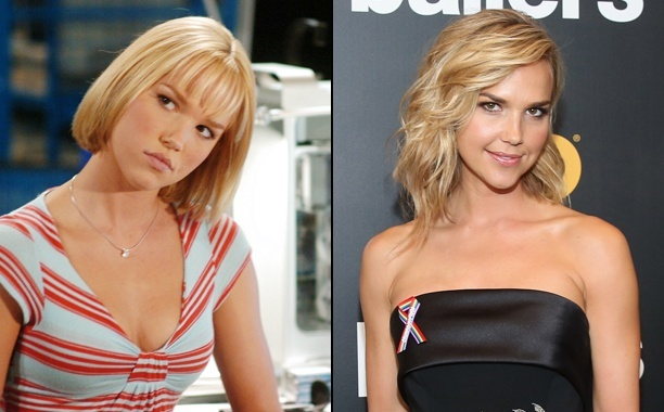Arielle Kebbel Then and now