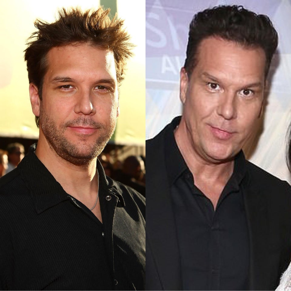 Dane Cook then and now