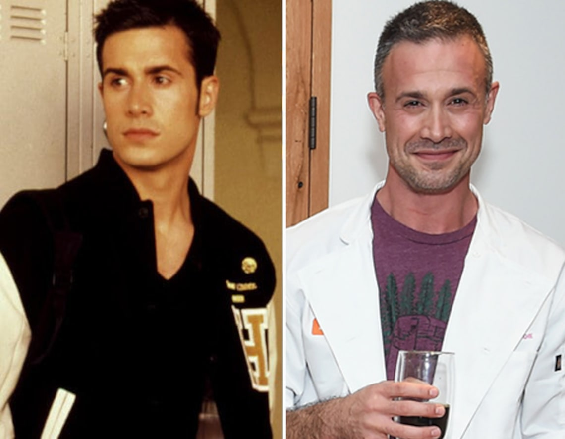 Freddie Prinze Jr. then and now