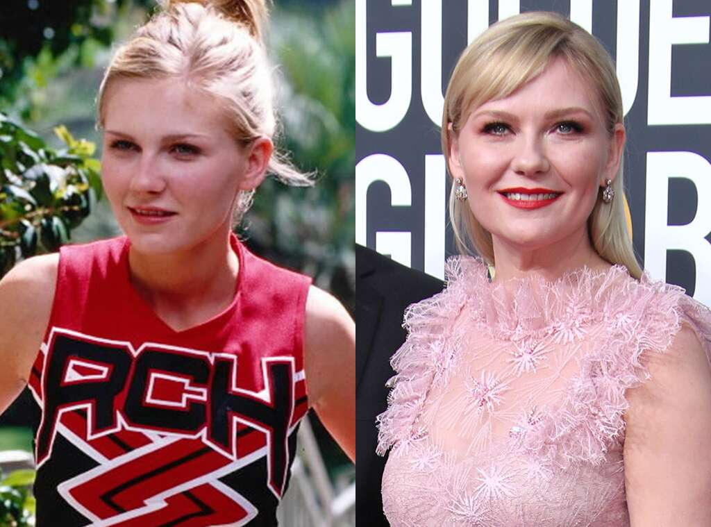 Kirsten Dunst before and after